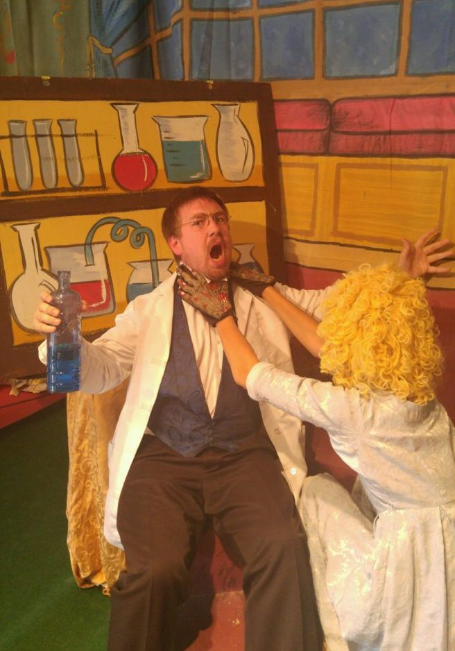 """Dr. Jekyll and Mrs Hyde - A Top Banana """"Slice"""""""